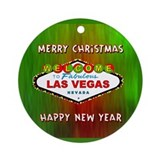 Las Vegas Christmas Keepsakes (Red)