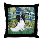 Bridge & Papillon Throw Pillow