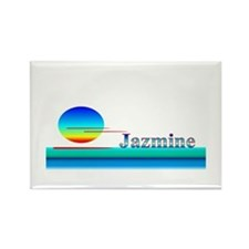 Jazmine Rectangle Magnet