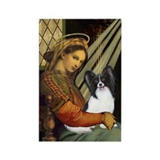 Madonna & Papillon Rectangle Magnet