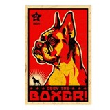 Obey the Boxer! Cropped Postcards (Pack of 8)