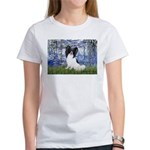 Lilies (#6) & Papillon Women's T-Shirt
