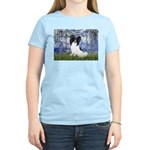 Lilies (#6) & Papillon Women's Light T-Shirt