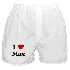 I Love Max Boxer Shorts