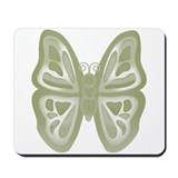 large green butterfly Mousepad