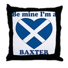 Baxter, Valentine's Day Throw Pillow