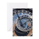Funny  time travel Greeting Cards (Pk of 10)