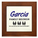 Garcia Family Reunion Framed Tile
