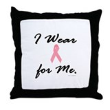 I Wear Pink For ME 1 Throw Pillow