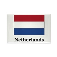 Netherlands Culture Rectangle Magnet
