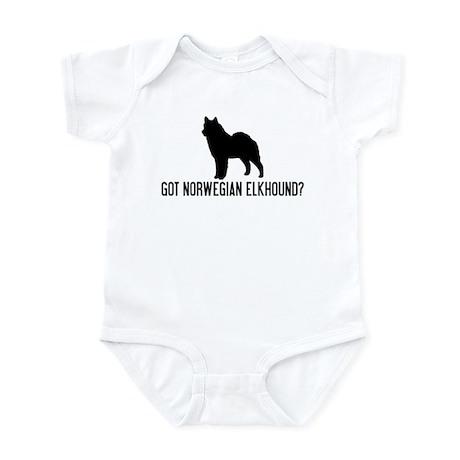 Got Norwegian Elkhound Infant Bodysuit