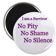 """No Pity"" 2.25"" Magnet (100 pack)"