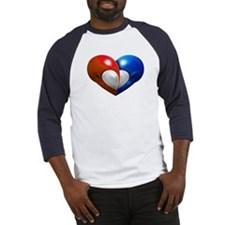 Alien Heart - Men's Baseball Jersey Shirt