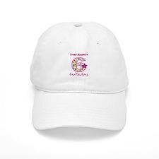 6th Birthday Splat - Personalized Baseball Cap