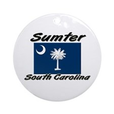 Sumter South Carolina Ornament (Round)