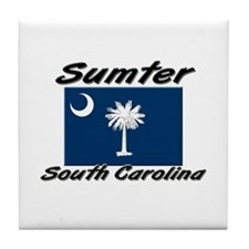Sumter South Carolina Tile Coaster