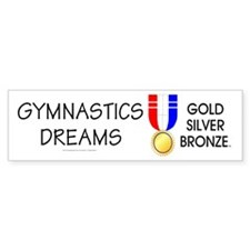 TOP Gymnastics Dreams Bumper Sticker