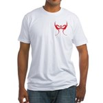 Masonic Red Dragons Fitted T-Shirt