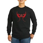 Masonic Red Dragons Long Sleeve Dark T-Shirt