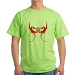 Masonic Red Dragons Green T-Shirt