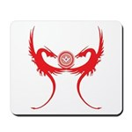 Masonic Red Dragons Mousepad