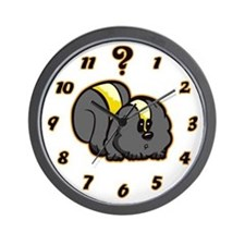 Skunk Bob Wall Clock