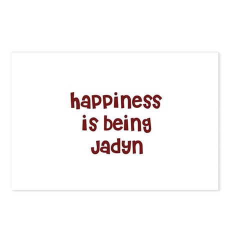 happiness is being Jadyn Postcards (Package of 8)