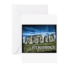 Stonehenge Great Britain Greeting Cards