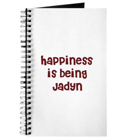 happiness is being Jadyn Journal