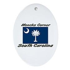 Moncks Corner South Carolina Oval Ornament