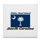 Hilton Head Island South Carolina Tile Coaster