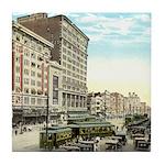 Old Maison Blanche Tile Coaster