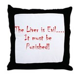 Punished Throw Pillow