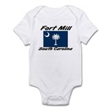 Fort Mill South Carolina Infant Bodysuit