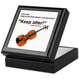 """Keep atter!"" Fiddle Violin Keepsake Box"