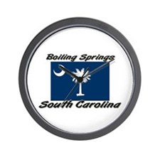 Boiling Springs South Carolina Wall Clock
