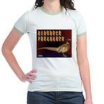 Ringneck Pheasants Jr. Ringer T-Shirt