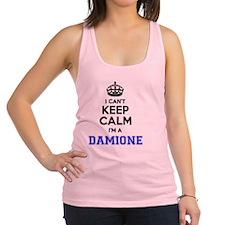 Funny Damion Racerback Tank Top