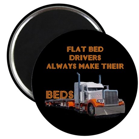 Flat Bed Drivers Magnet