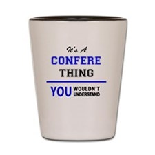 Funny Conference Shot Glass