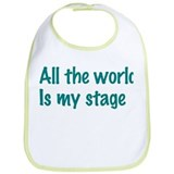 Cute Thespian Bib