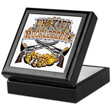 Tombstone gifts and shirts Keepsake Box