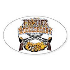 Tombstone gifts and shirts Oval Decal