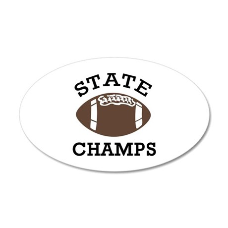 STATE CHAMPS Wall Decal