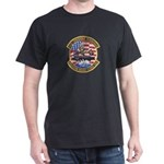 USS Roosevelt Desert Storm Dark T-Shirt