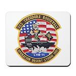 USS Roosevelt Desert Storm Mousepad