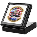 USS Roosevelt Desert Storm Keepsake Box