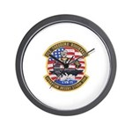 USS Roosevelt Desert Storm Wall Clock