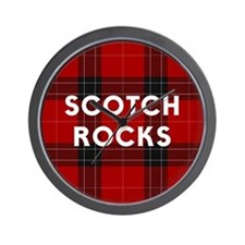 SCOTCH ROCKS Wall Clock