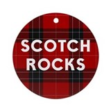 SCOTCH ROCKS Ornament (Round)